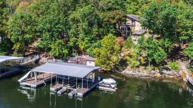 Photo for Summer Fun! Enjoy the private dock, quiet cove and space for the whole family
