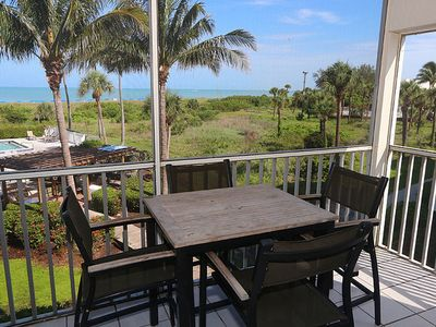 Photo for Nicely Updated, Two Bedroom, Direct Beach Front Condo - South Seas Beach Villa 2528
