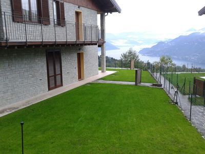 Photo for Giulia's chalet with wonderful lake view