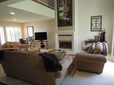 Photo for 3 BR/3 BA Condo Overlooking 15th Green at Desert Falls Cc