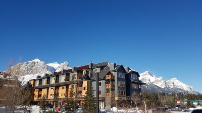 Photo for Stunning Mtn views! Beautiful 2 bed/bath condo.,Free WiFi/Cable. Prime location!