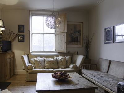 Photo for Unique three bedroom house in Battersea with terrace (Veeve)
