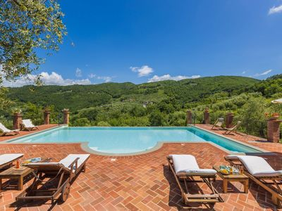 Photo for Seven Bedroom Independent Villa Pistoia area  Villa Le Terme is an elegant country villa dating back