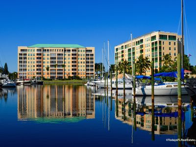 Photo for Beautiful 2 bedroom Condo located in the Harbor Towers @ Burnt Store Marina