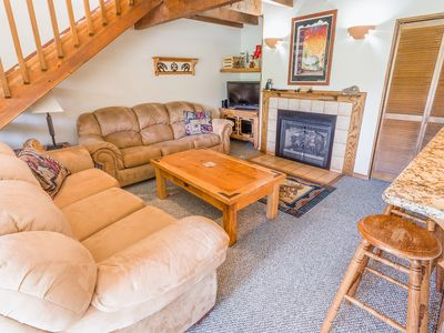 Photo for Two Bedroom Deluxe - CC 241 Ski In Ski Out Chairs 4 & 6