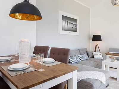 Photo for Apartment Homecoming | 58 sqm, max. 2 pers. - Villa recurrence | Modern apartments near the beach