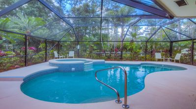 Photo for SHADEYA HEATED POOL/SPA-FAST WIFI-PET FRIENDLY-MINS. TO BEACH & ROGER DEAN-W/D