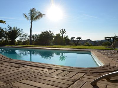 Photo for Villa Angel - Panoramic view with magnificent pool and pool house
