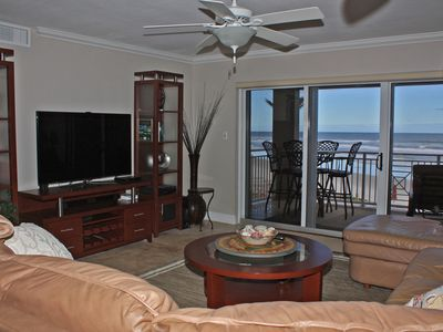 Photo for Beautiful remodeled condo has all amenities of home!  Relax, start enjoying your oceanfront holiday!
