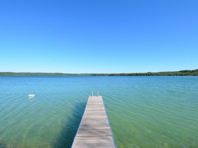 Photo for North Lake Leelenau Retreat! Beautiful Lake Views From Every Room!