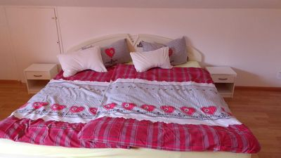 Photo for Double room, extra bed (guest bed) possible, cot available 65 qm - Gästezimmer 1 Claudia Schwarzwald Black Forest