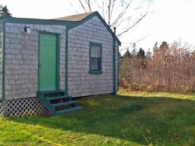 Photo for One bedroom cabin with spectacular views overlooking Flanders Bay - Cabin #11