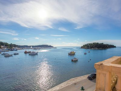 Photo for Standard apartment located on the promenade in Rovinj with a sea view