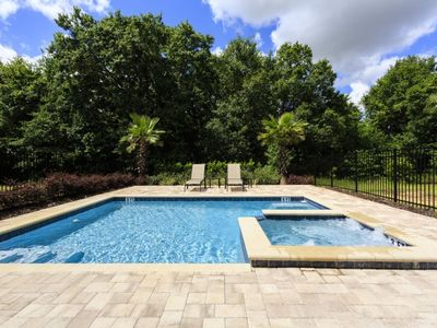 Photo for Luxury 5 Bed with Very Private Pool 15 min To Disney!