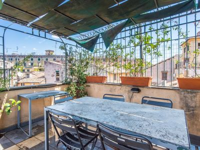 Photo for Apartment 284 m from the center of Rome with Internet, Air conditioning, Terrace, Washing machine (9491)