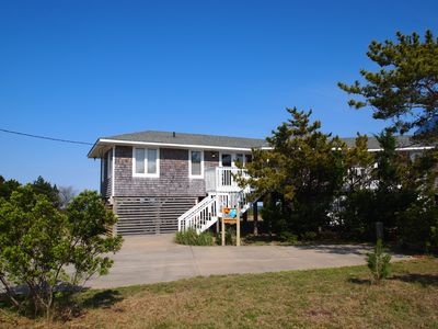 Photo for OBX Beach House + Bikes-Paddle Boards-Kayaks-Beach Chairs-AC-Cable TV-Free WiFi