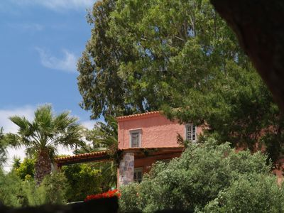 Photo for Bougainvillea House sets in the organic orchard of Chroussiano Farmhouse