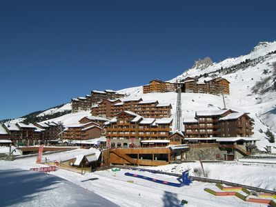 Photo for Beautiful apartment located next to the slopes and near the shops in Meribel-Mottaret