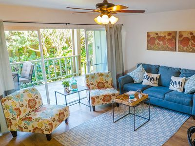 Photo for Ocean View and Completely Remodeled! Just steps away from Sugar Beach! Kihei Kai Unit #3