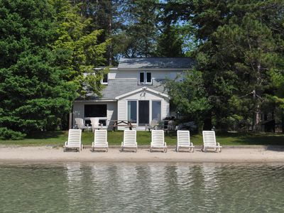 Photo for Peaceful Lakeside Villa On Big Glen Lake. Gorgeous Views!