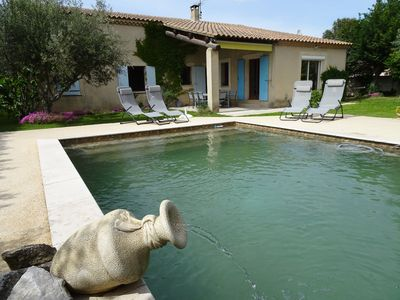 Photo for T2 studio with pool in villa near Luberon