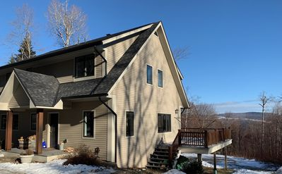 Photo for Spacious home at Sugarbush Mt Ellen with valley views
