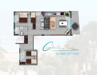 Photo for Cambrils Playa Spa Apartments- 1st Floor (5/7 pax)
