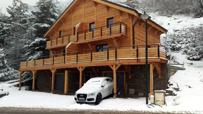 Photo for Luxurious and comfortable chalet, with an exceptional view on the slopes