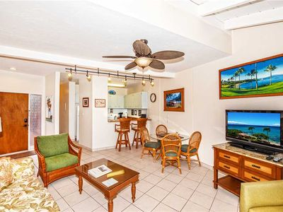 Photo for KUL209 - West Maui Ocean View Deluxe Condo in Quiet Ocean Front Resort—1BR/1BA