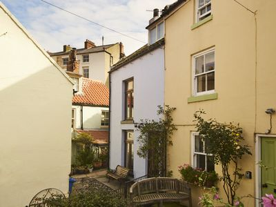 Photo for Cosy Cottage with Modern Facilities; Heart of Old Staithes; Log Burner; Wi-Fi
