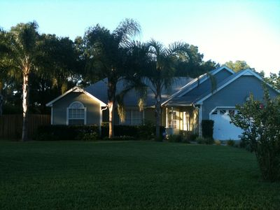 Photo for Lovely Pool Home in Historic Town Close to Beach & Theme Parks