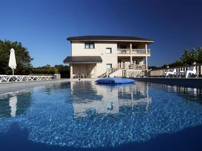 Photo for Villa with pool and 4000 mtrs. of farm for family rest.