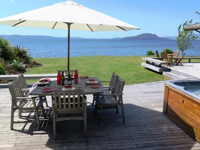 Photo for Waikuta Lakeside Lodge on Lake Rotorua