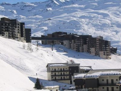 Photo for Apartment Les Menuires - Reberty (the slopes) - Ski Soleil