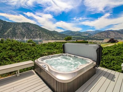 Photo for New Listing! Wapato Point home w/ lake view, deck, hot tub & shared pool