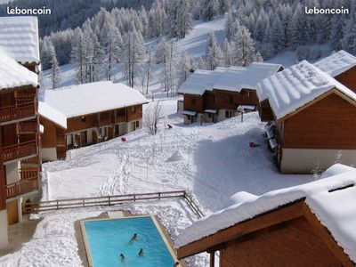 Photo for Appart at the foot of the slopes with heated pool
