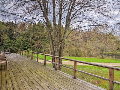 Photo for Great Valley Mtn. House on 30 Acres w/Pond & Grill