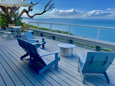 Photo for Whidbey Island Mid-century Modern Waterfront Getaway - Epic Views!!