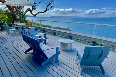Mesmerizing 270 degree west facing view. Oversized deck. Epic epic sunsets.
