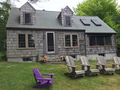 Photo for Classic Harborfront Cottage for 6