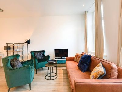 Photo for Luxurious Design APT | CITY CENTRE | Canal view!