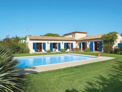 Photo for 4 bedroom Villa, sleeps 8 in Les Serres with Pool, Air Con and WiFi