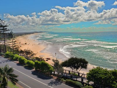 Photo for Unit 8, Phoenix Apartments, 1736 David Low Way, Coolum Beach, LINEN INCLUDED, 500 BOND