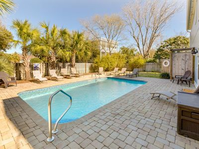 Photo for Perfect Family Friendly Beach Home in IOP! Private Pool & FUN! Book Now!