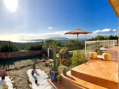 Photo for Large villa with superb sea view in Saint-Cyprien, Corsica