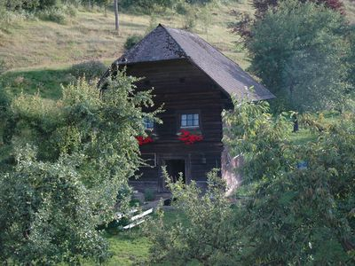 Photo for Quaint cottage on the farm in Carinthia, large pond, pets welcome
