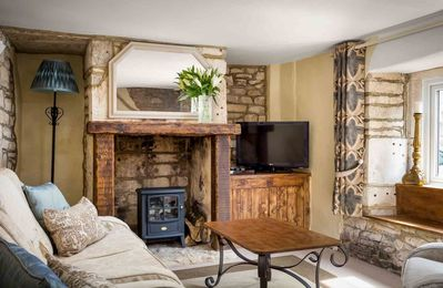 Photo for Teasel Cross Cottage is a traditional Cotswold stone cottage, located on a peaceful lane