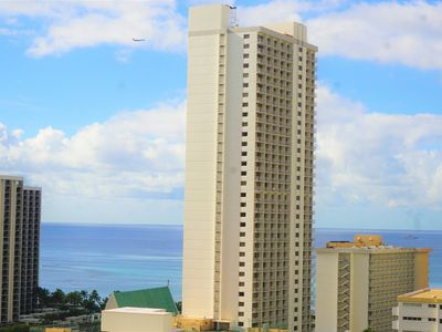 Photo for Ocean View Penthouse 2Bd/2B/ sleeps 6+ Free Pkg & Wifi. 30 day special