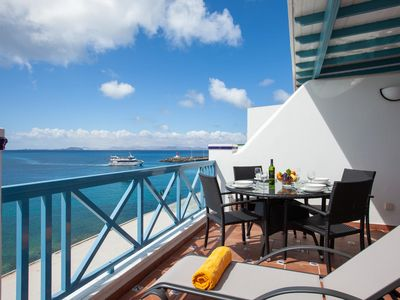 Photo for 2 bedroom Apartment, sleeps 4 in Playa Blanca with WiFi
