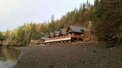 Photo for Luxury cabin rentals in remote Halibut Cove, an hour boat ride from Homer.